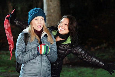 "Grey's Anatomy - Season 8 - ""All You Need Is Love"" - Jessica Capshaw, Sara Ramirez"