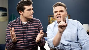 Watch the Awkward Stars Fight Over Who's a Better Guy: Matty or Jake