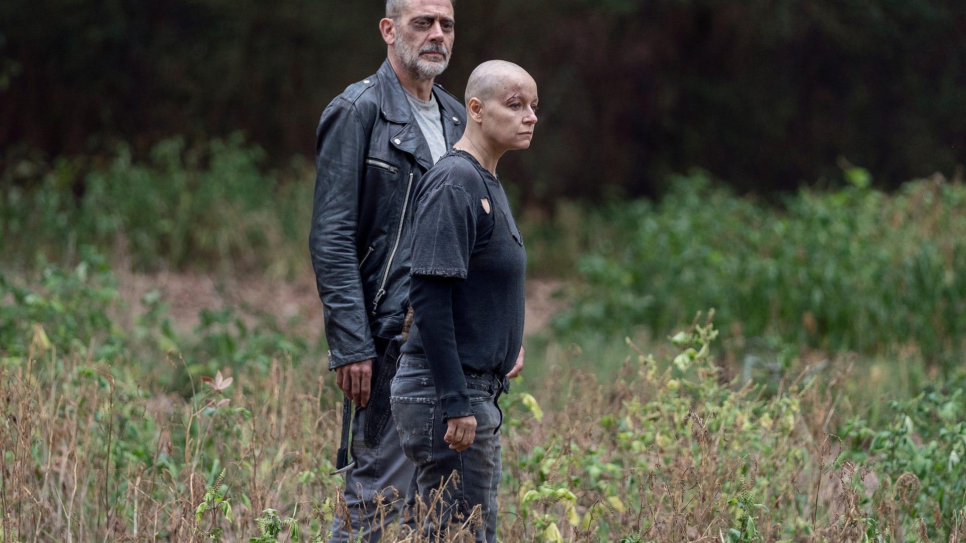 Jeffrey Dean Morgan and Samantha Morton, The Walking Dead