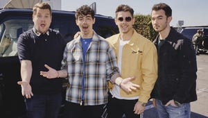 Jonas Brothers Reunite for Late Late Show With James Corden Takeover