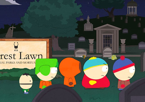 "South Park - Season 13 - ""Dead Celebrities"" - Ike, Kyle, Kenny, Cartman and Stan"