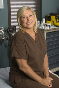 Linda Klein as Scrub Nurse Linda