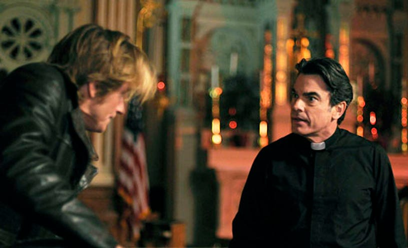 """Rescue Me - Season 6 - """"Sanctuary"""" - Denis Leary and Peter Gallagher"""