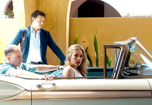 "Covert Affairs - Season 3 - ""Loving the Alien"" - Nestor Serrano, Richard Coyle and Piper Perabo"