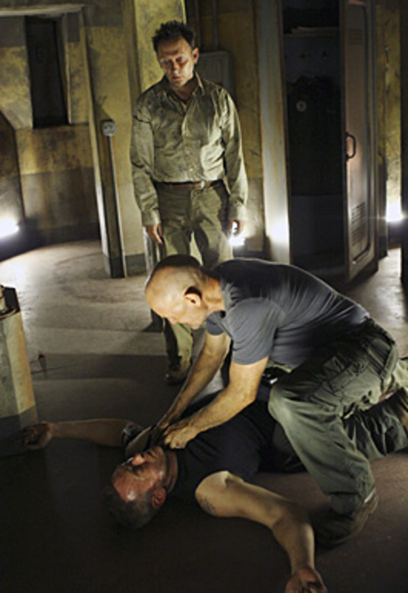 """Lost - Season 4 - """"There's No Place Like Home,"""" Parts 2 & 3 - Michael Emerson, Terry O'Quinn, Kevin Durand"""