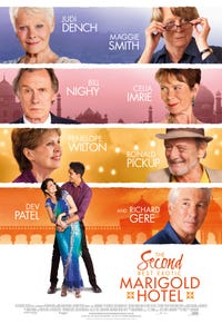 The Second Best Exotic Marigold Hotel as Lavinia