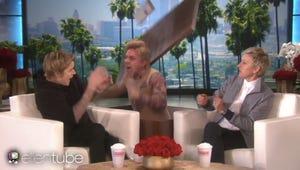 Justin Bieber, Selena Gomez, Nicki Minaj and More Get the Ellen Scare Treatment