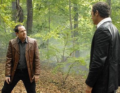 "Life On Mars - Season 1 - ""The Man Who Sold The World"" - Dean Winters and Jason O'Mara"