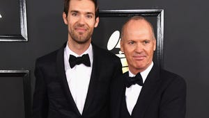 Here's Why Michael Keaton and His Hot Son Are at the Grammys