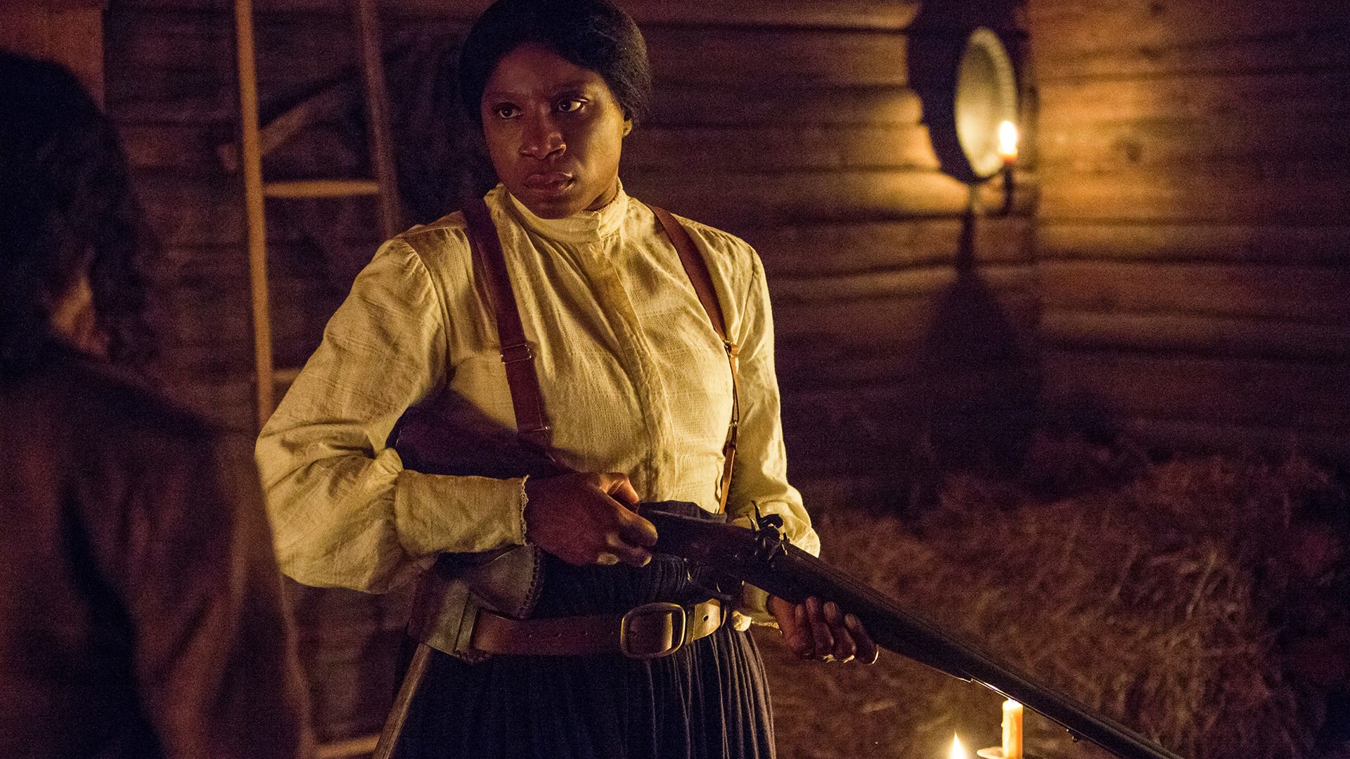 Aisha Hinds as Harriet Tubman, Underground