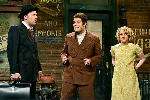 "Saturday Night Live - Season 38 - ""Ben Affleck"" - Ben Affleck, Bill Hader and Kate McKinnon"