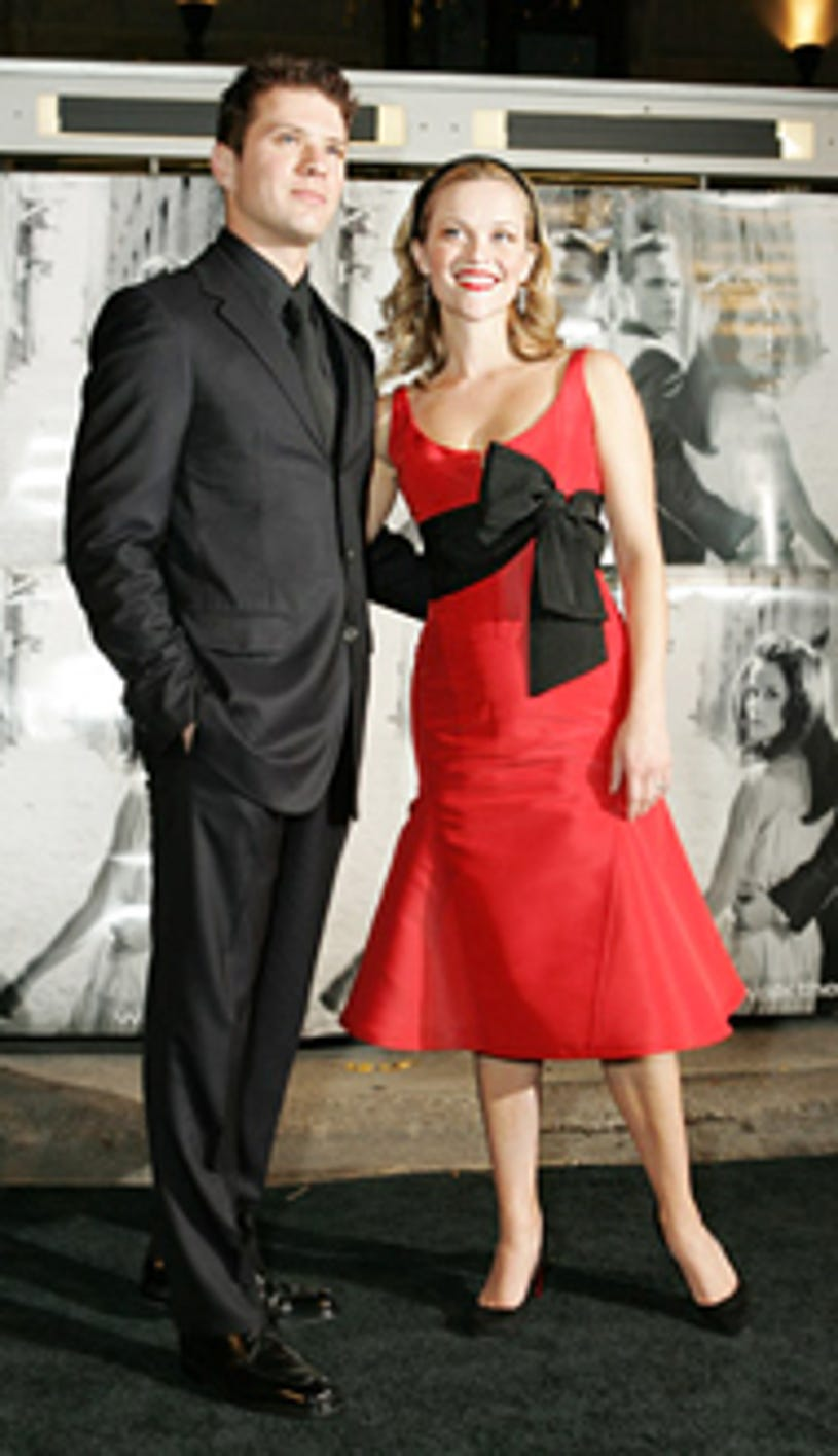 """Ryan Phillippe and Reese Witherspoon - """"Walk The Line"""" premiere, Nov. 2005"""