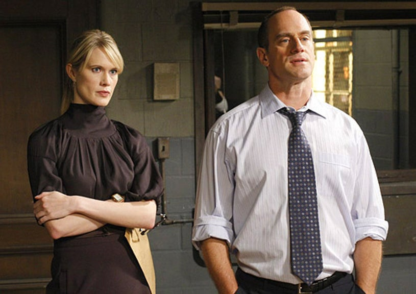 """Law & Order: SVU - Season 10 - """"Lead"""" - Stephanie March as Asst. D.A. Alexandra Cabot and  Christopher Meloni as Det. Elliot Stabler"""
