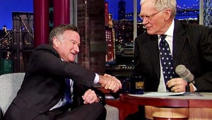 Watch David Letterman's Moving Tribute to Robin Williams
