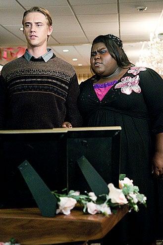 "The Big C - Season 2 - ""A Little Death"" - Boyd Holbrook and Gabourey Sidibe"