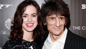 Rolling Stones' Ronnie Wood Marries Sally Humphreys
