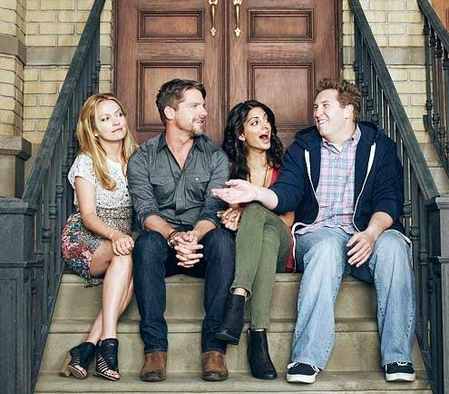 Weird Loners - Season 1 - Becki Newton, Zachary Knighton, Meera Khumbani and Nate Torrence
