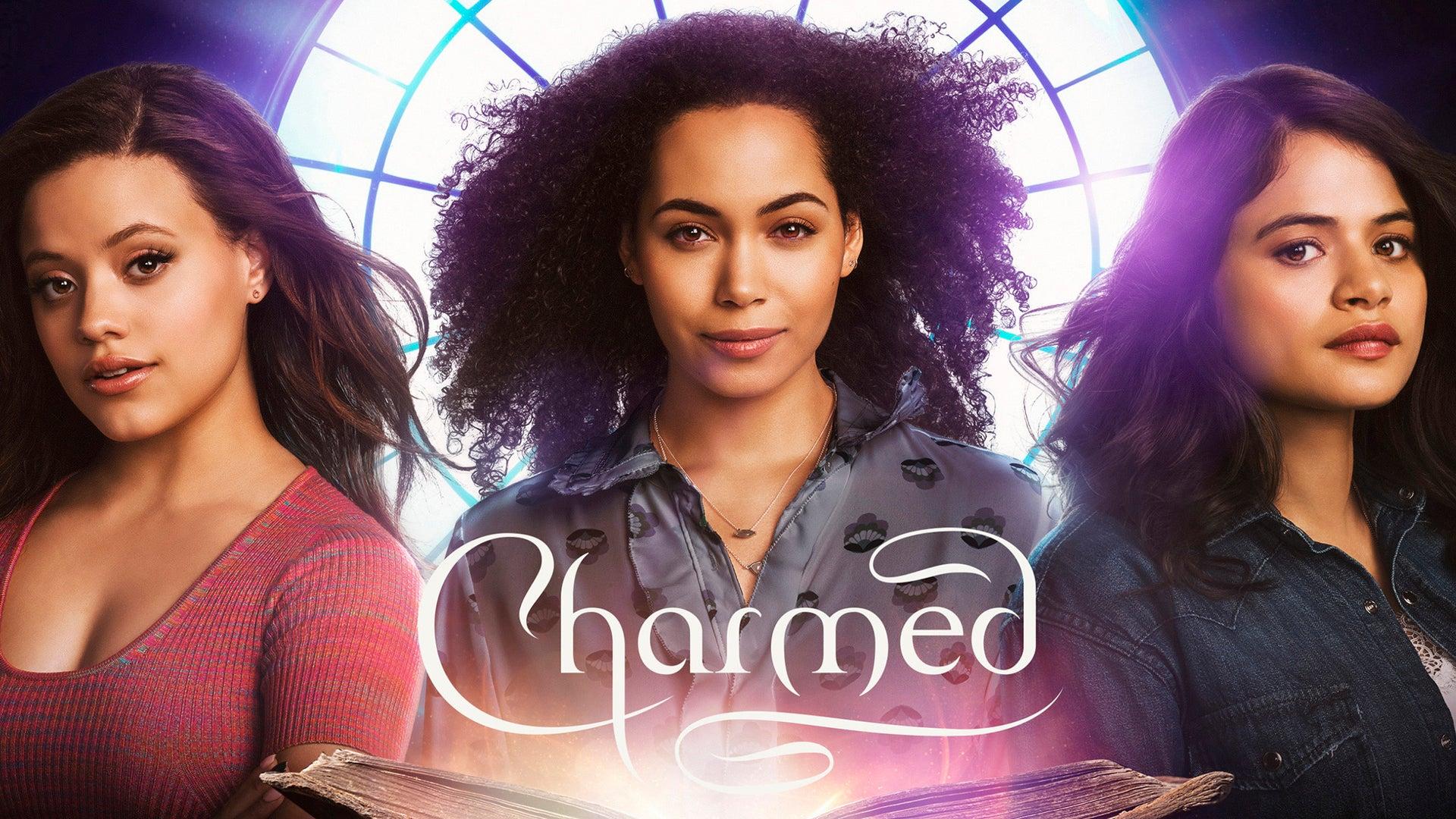 Sarah Jeffery, Madeleine Mantock and Melonie Diaz, Charmed