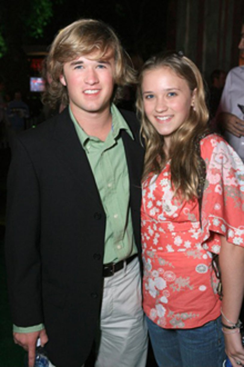 """Haley Joel Osment and  Emily Osment - """"Monster House"""" premiere after party, July 2006"""