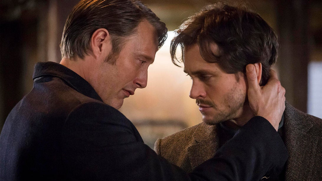 Mads Mikkelsen and Hugh Dancy, Hannibal