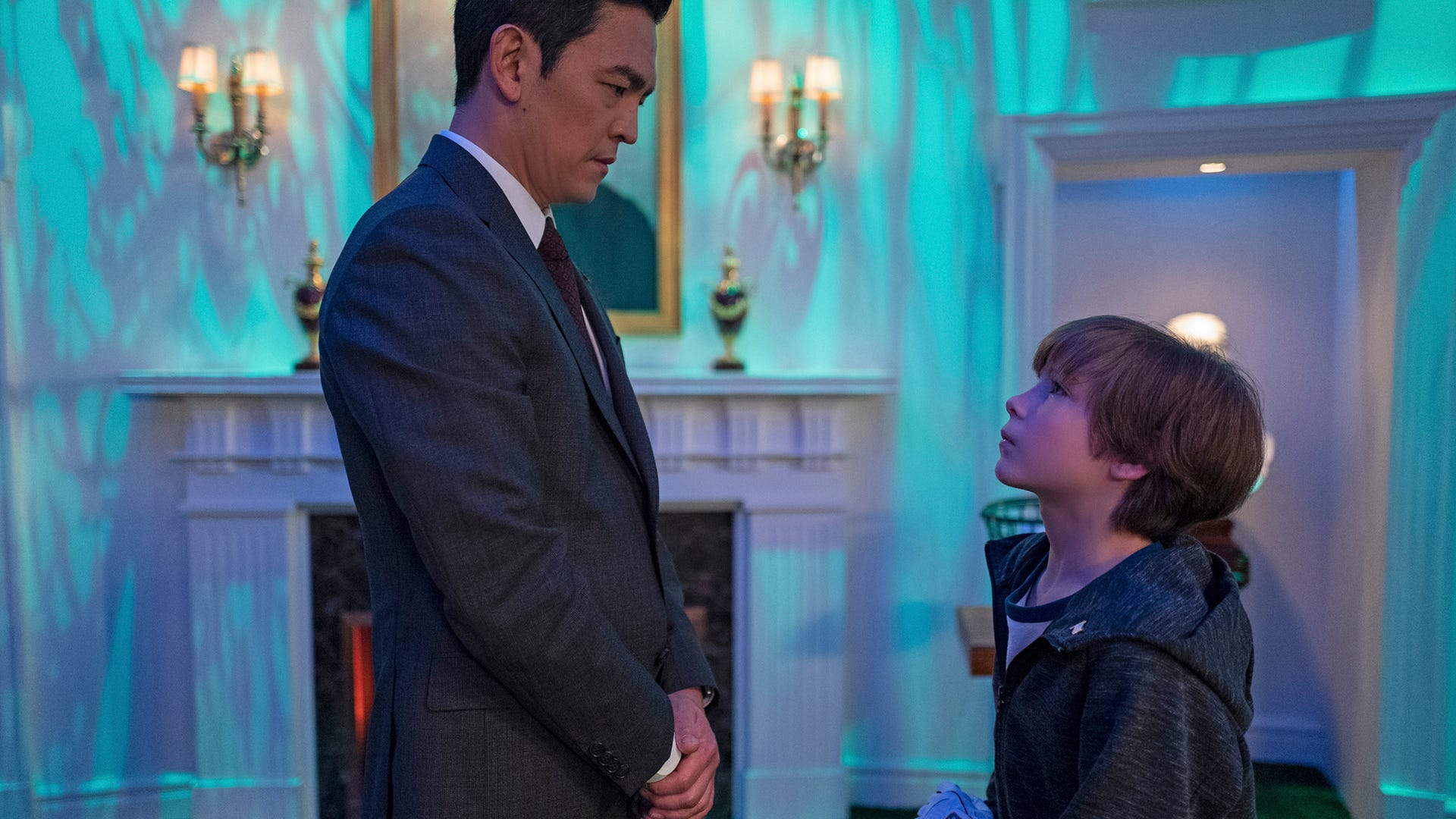 """John Cho and Jacob Tremblay in """"The Wunderkind,"""" The Twilight Zone"""