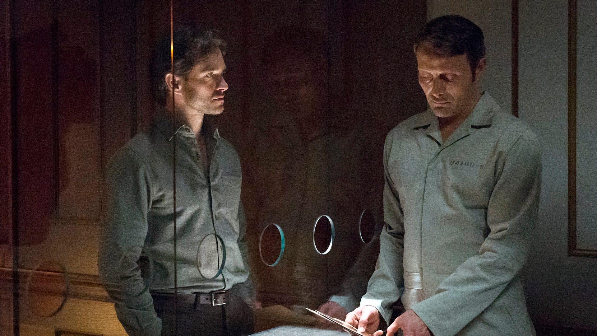 Hugh Dancy and Mads Mikkelsen, Hannibal