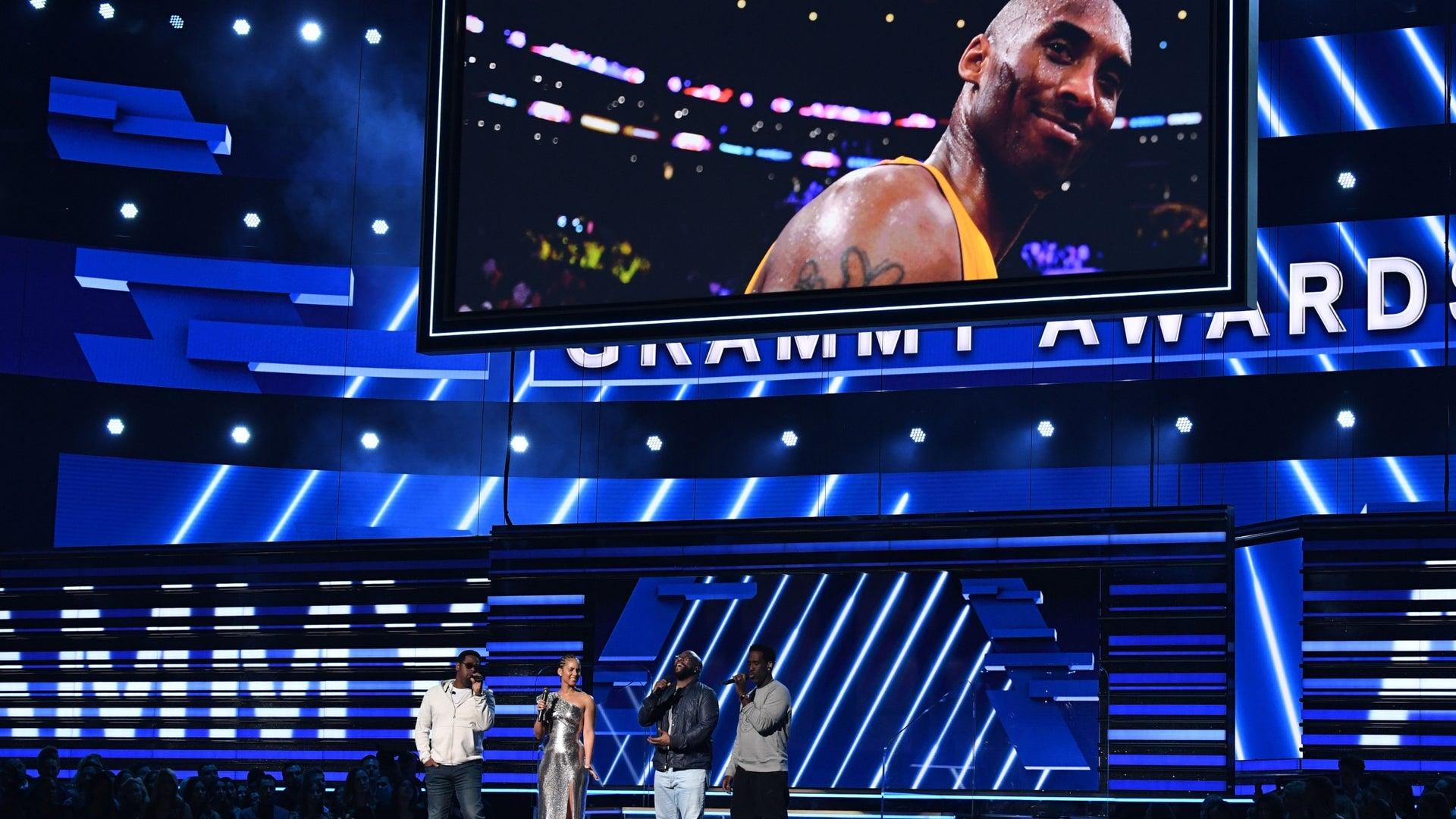 Kobe Bryant tribute at the 2020 Grammy Awards