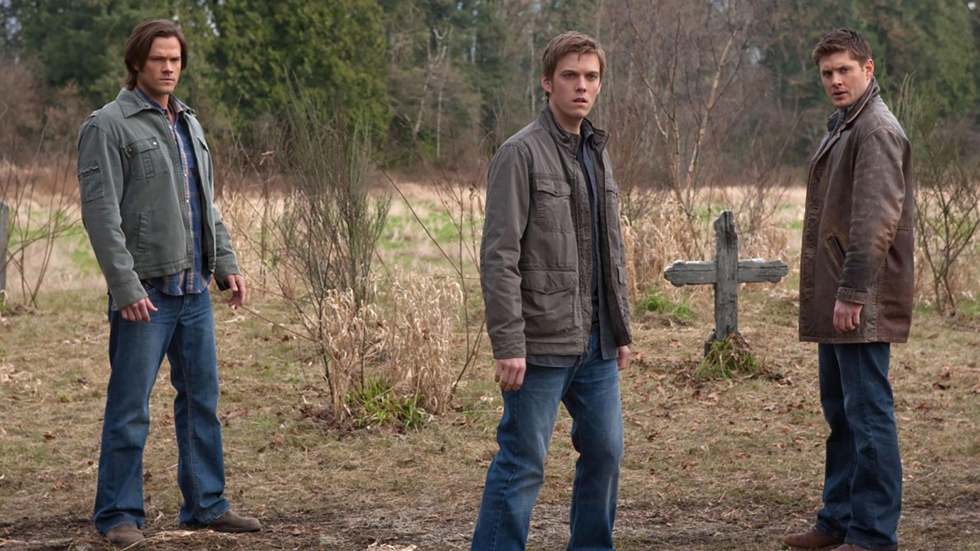 Jared Padalecki, Jake Abel and Jensen Ackles, Supernatural