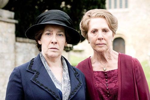 Downton Abbey - Season 3 - Phyllis Logan and Penelope Wilton