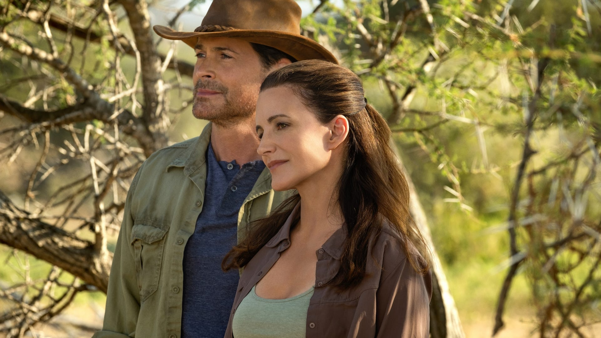 Rob Lowe and Kristin Davis, Holiday in the Wild