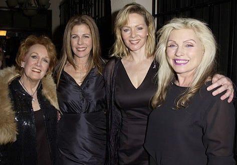 Marni Nixon, Rita Wilson, Jean Smart & Deborah Harry