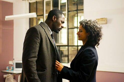 Luther - Season 1 - Idris Elba and Indira Varma