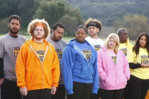 The Biggest Loser - Season 9 - Sam Poueu, Daris George, Koli Palu, Vicky Andrews, Mike Ventrella, Ashley Johnston, O'Neal Hampton, Sunshine Hampton