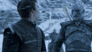 """Game of Thrones: Isaac Hempstead-Wright on Filming That """"Terrifying"""" Night's King Scene"""