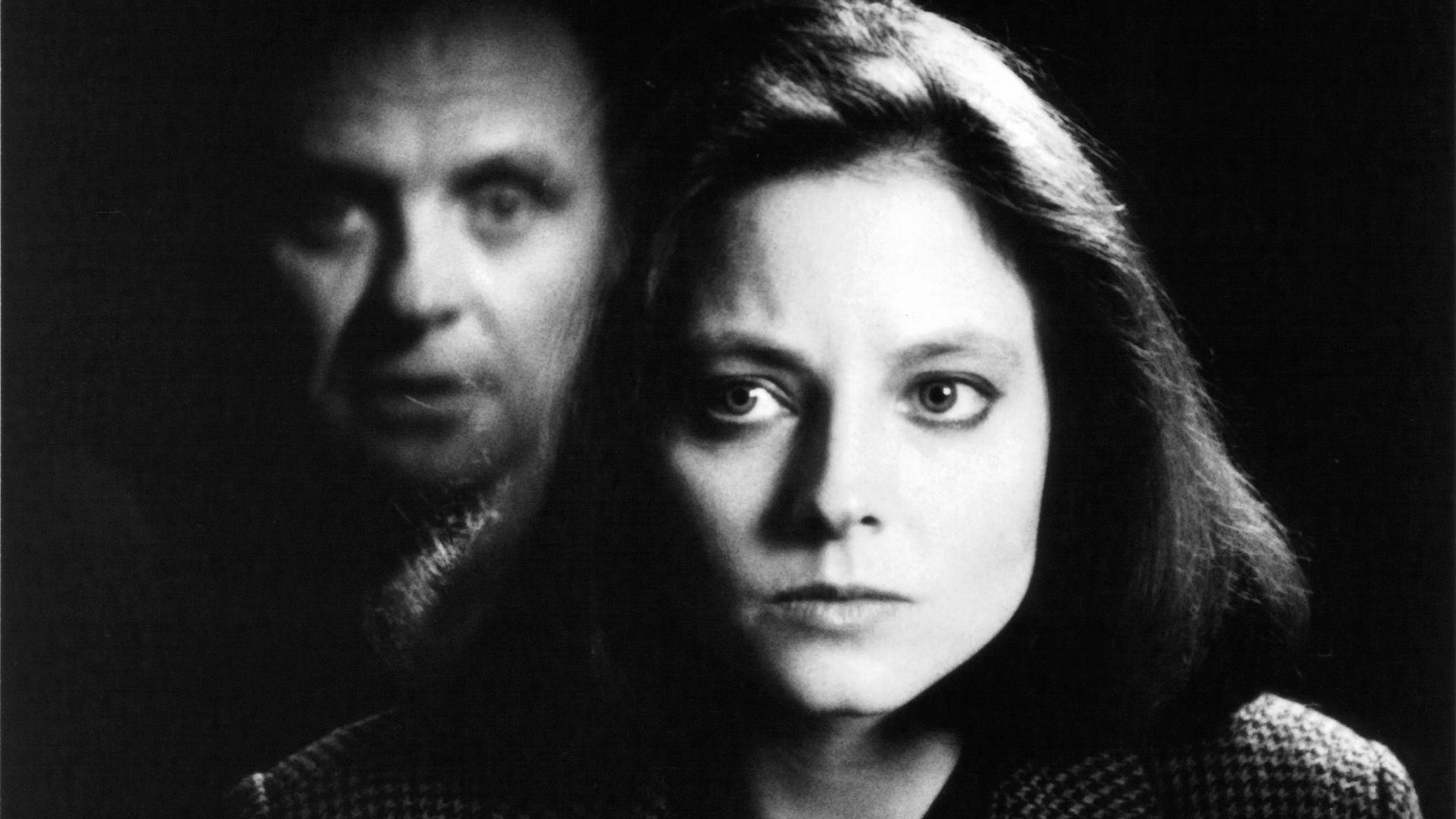 Anthony Hopkins and Jodie Foster, Silence of the Lambs