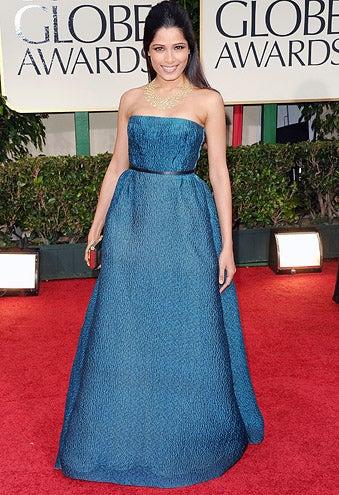 Freida Pinto - The 69th Annual Golden Globe Awards, January 15, 2012