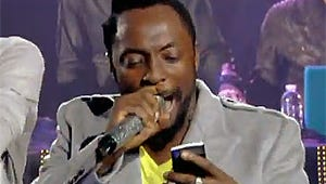 VIDEO: Black Eyed Peas' will.i.am Phones It In