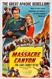 Massacre Canyon as Lt. Ridgeford