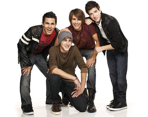 Big Time Rush - Carlos, Kendall, James, Logan