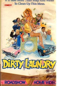 Dirty Laundry as Black Woman at Laundromat