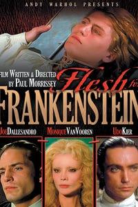 Andy Warhol's Frankenstein as Baron Frankenstein
