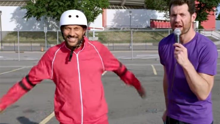 Keegan-Michael Key and Billy Eichner, Billy on the Street