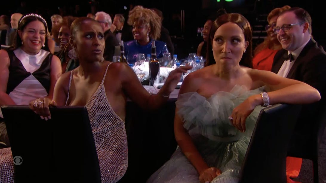 Issa Rae and Robin Thede, 73rd Primetime Emmy Awards