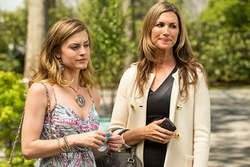 """Royal Pains - Season 4 - """"A Guesthouse Divided"""" - Brooke D'Orsay and Julie Claire"""