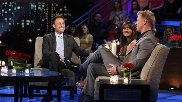 Chris Harrison, Catherine and Sean Lowe, The Bachelor