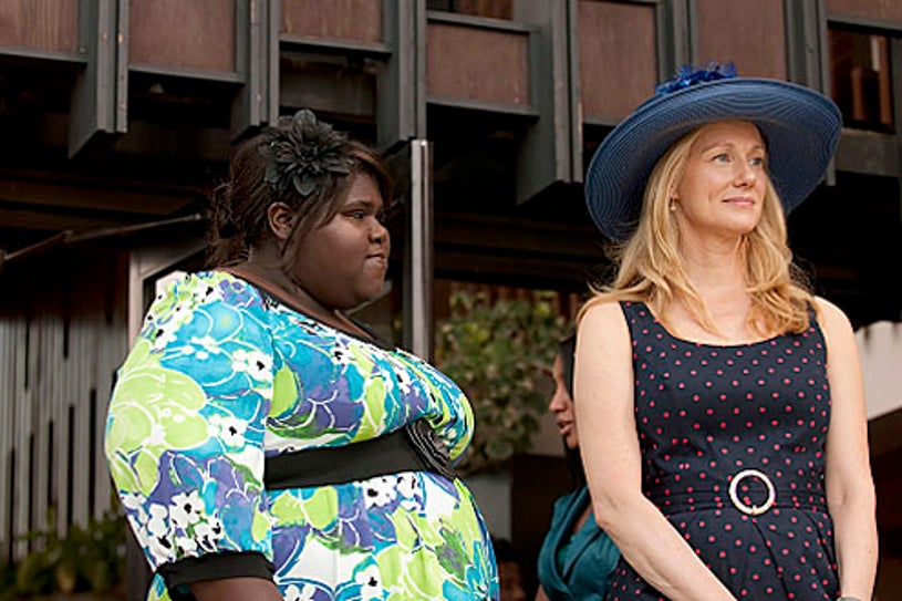 """The Big C - """"Divine Intervention"""" - Gabourey Sidibe as Andrea and Laura Linney as Cathy"""