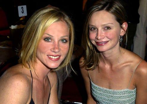 Christina Applegate and Calista Flockhart - AMC & Movieline's Hollywood Life Magazine's Young Hollywood Awards, May 4, 2003