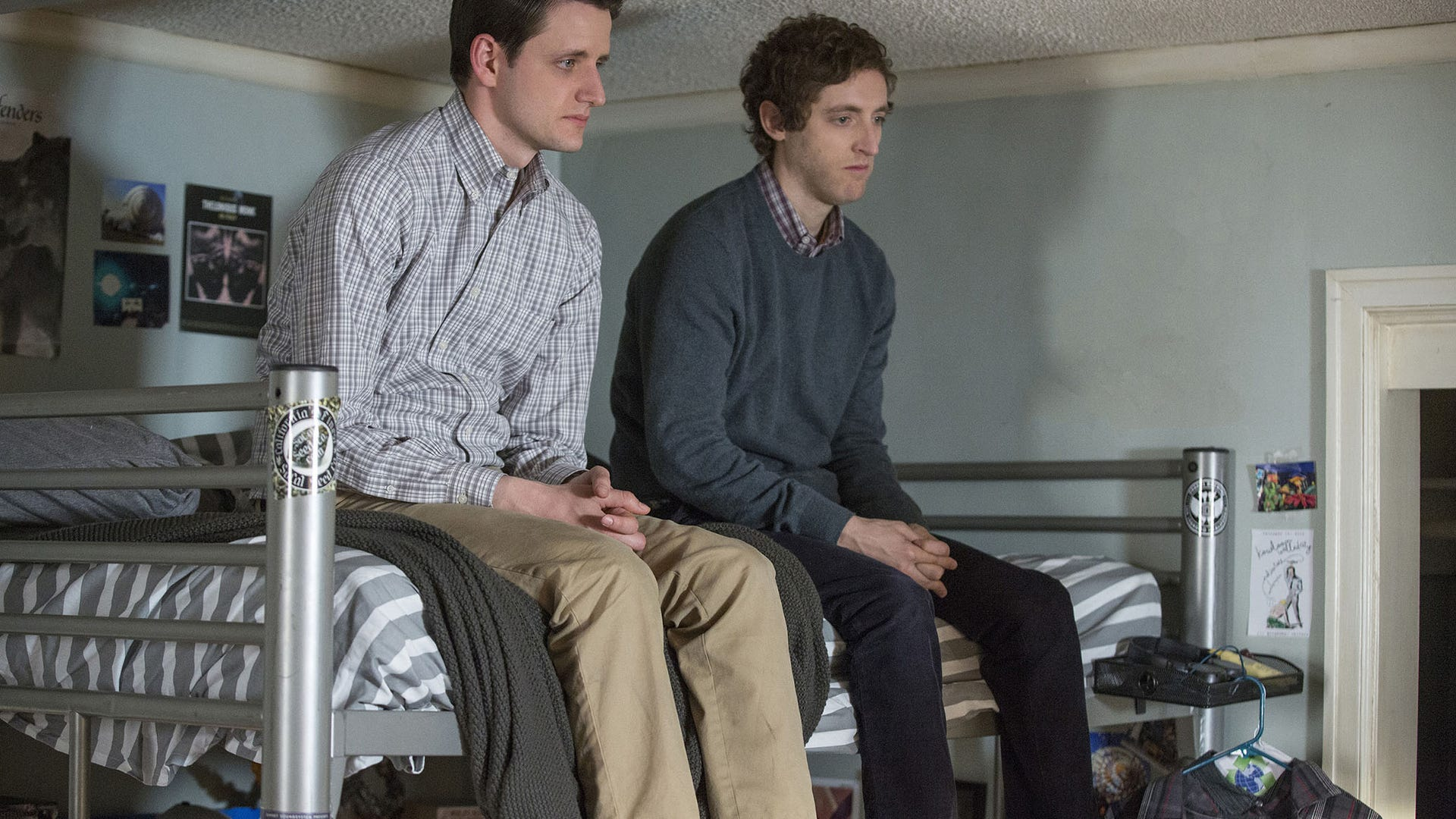 Zach Woods and Thomas Middleditch, Silicon Valley