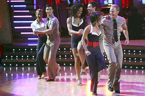 Dancing with the Stars - Season 4 - Heather Mills, Jonathan Roberts, Laila Ali, Maksim Chmerkovskiy, Cheryl Burke, Ian Ziering
