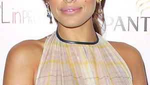 Eva Mendes Tries on Her Dog's Shock Collar --- Yes, Really